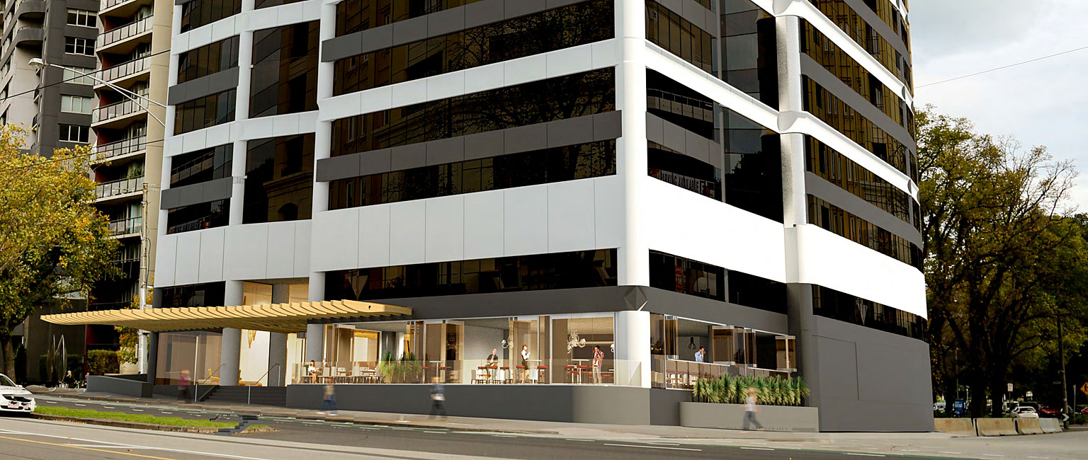 The Victoria Police office on St Kilda Rd was another site snapped up by investors