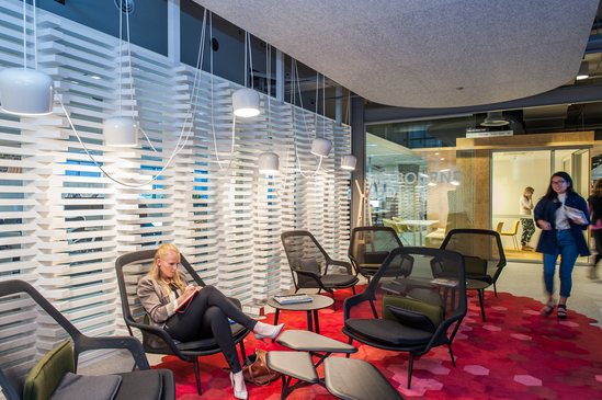 Employee wellbeing is now at the heart of progressive office designs