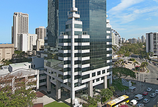 50 Cavill Avenue is the Gold Coast's largest office tower