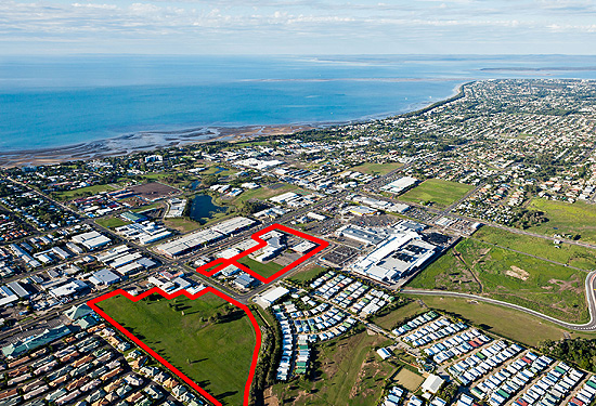 The Melbourne investor also bought a vacant parcel of land alongside Bay Central