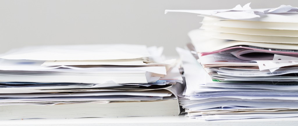 9 types of paperwork you need to throw away
