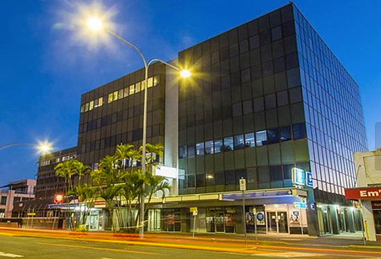 A five-storey office at 34 East St in Rockhampton City is on the market for $7.3 million.