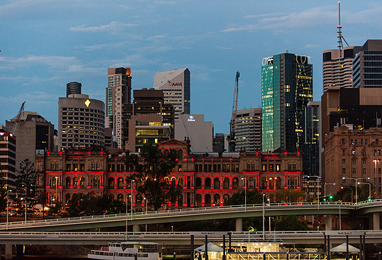 Brisbane's CBD is being outperformed by the Gold Coast market