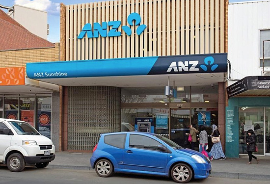 An ANZ bank in Sunshine was one of the most sought after Burgess Rawson auction items