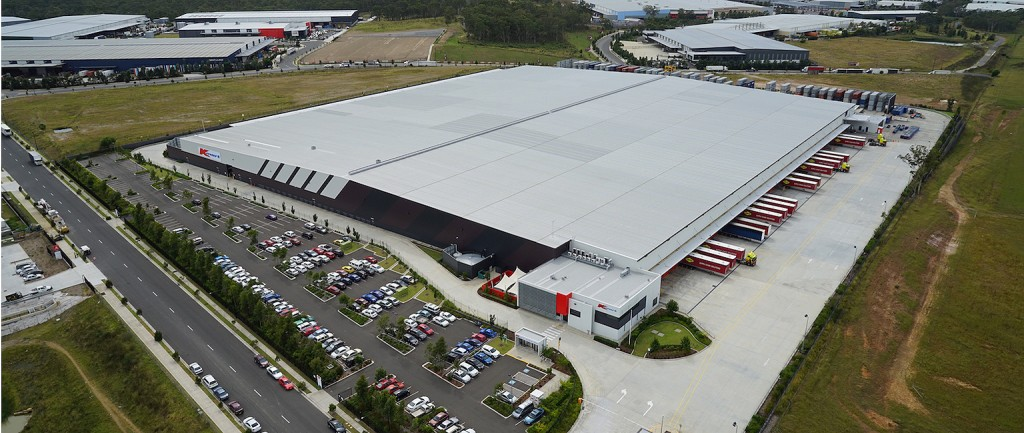The Kmart Distribution Centre at Eastern Creek was part of a portfolio sold to Singaporean investors