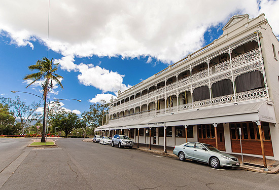 The Heritage Hotel closed in March after Cyclone Marcia hit hard