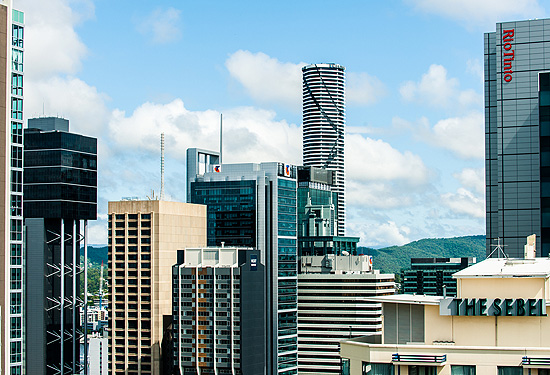 Brisbane's CBD leasing market has shown improvement for the third straight quarter