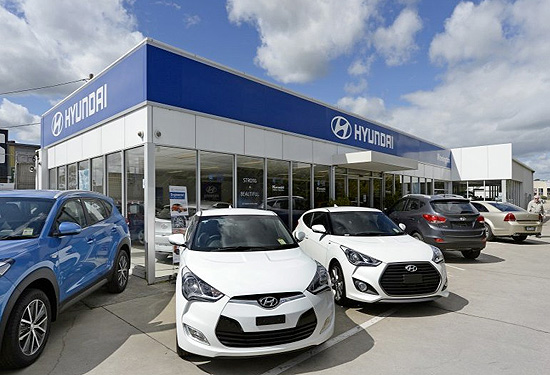 The Hyundai dealership in Mornington sold for almost $3.5 million