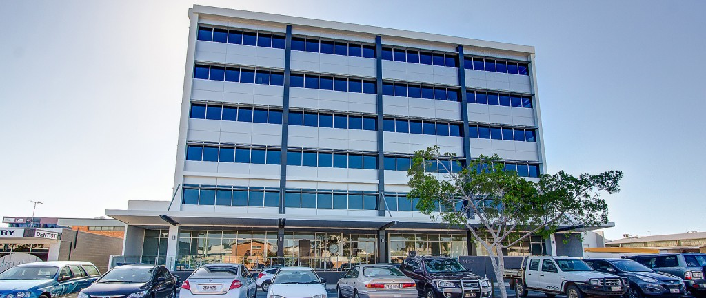 The office building in Mackay is leased to the Queensland Government