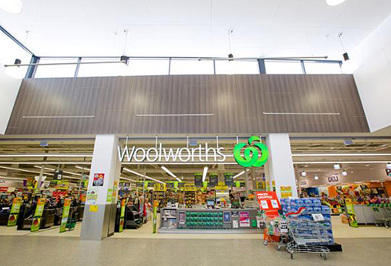 The Woolworths in Seville, Victoria, is among six to be sold.