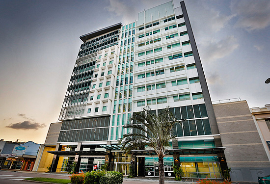The 11-storey building in Townsville has a 12-year WALE
