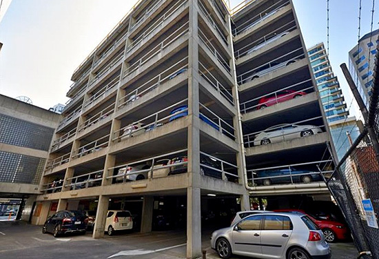 The South Melbourne car park was part of a three-property portfolio that fetched $30 million