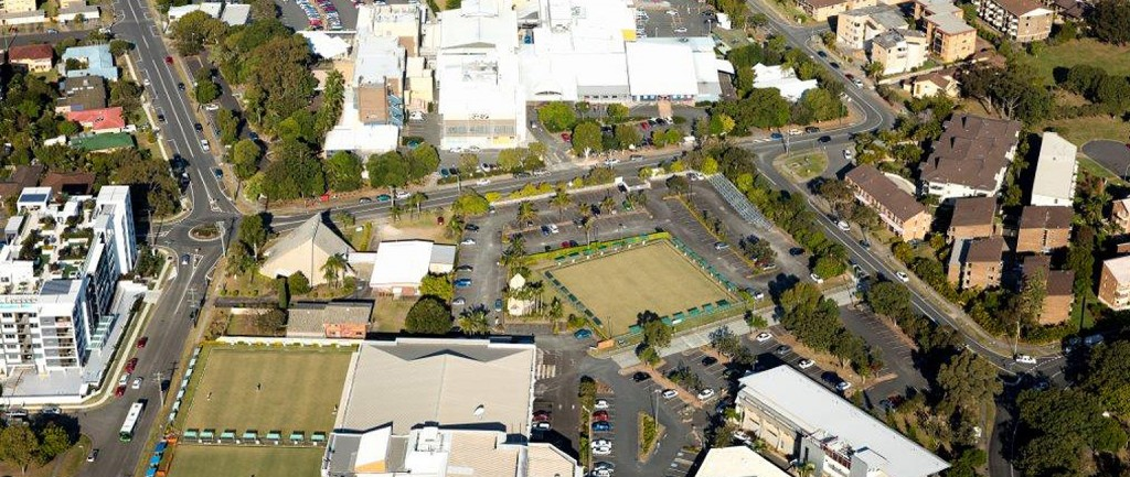 The proposed development  site in Tweed Heads