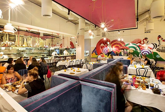 The property leased to Adriano Zumbo includes a large restaurant component