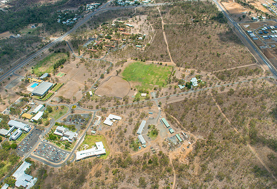 80ha of the university campus will be transformed into a mix of residential, retail, community and recreational areas