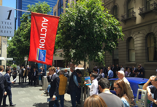 The shops on Little Collins St sold for $2.64 million.
