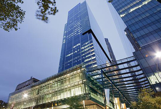 Blackstone bought a half-share in Melbourne's Southern Cross office building for $675 million.