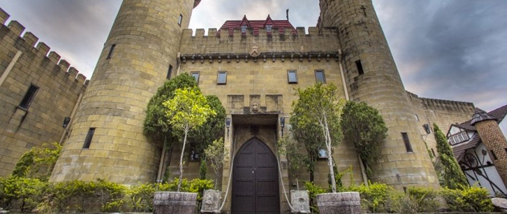 Sunshine Castle is being offered for sale near Maroochydore in Queensland.