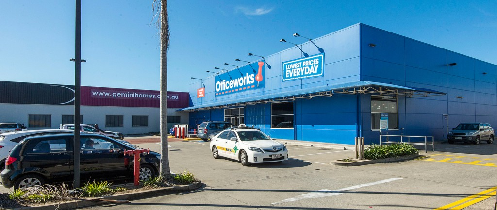 An Officeworks building in Mackay, Queensland, has sold for $5.65 million.
