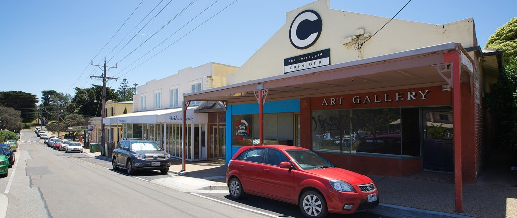 Four shops alongside the iconic Portsea Hotel are being offered for lease.