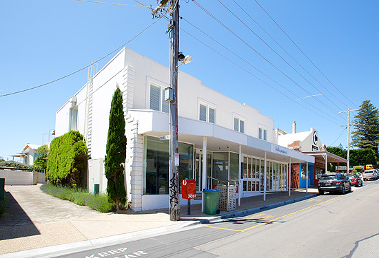Four shops alongside the Portsea Hotel are being offered for lease.
