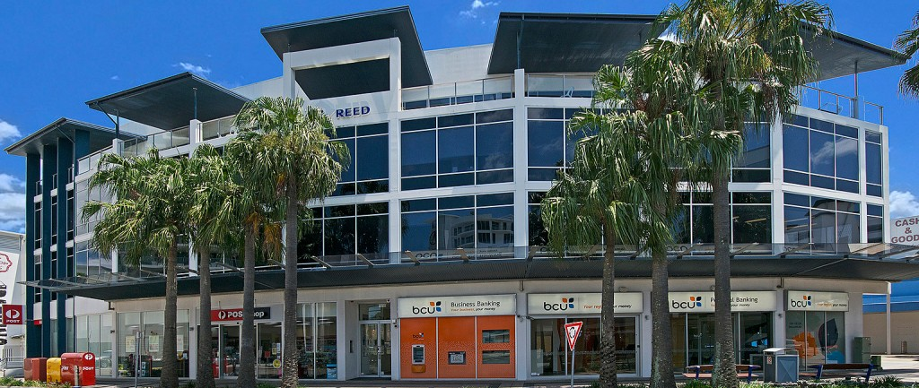The Maroochydore property sits beside the Big Top Shopping Centre.