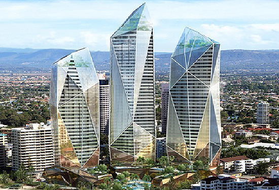 The Jewel development in Surfers Paradise will have Jewel development will have 500 apartments, 171 hotel rooms and dozens of luxury retail precincts.
