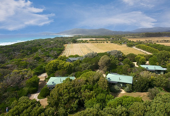 Tasmania's Sandpiper Cottages are for sale for more than $2 million.
