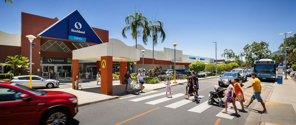 Stockland is selling its shopping centre in Cairns.