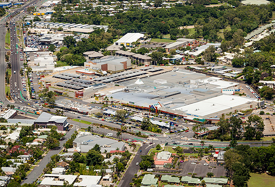 Stockland Cairns is spread over an almost 50,000sqm site.