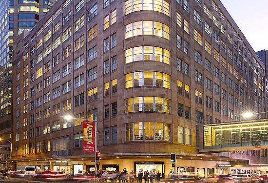 The David Jones store on Market St in Sydney remains up for sale.