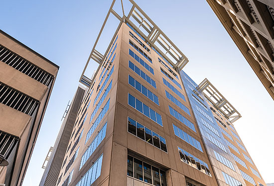 Dexus Property Group is selling its office tower at 108 North Terrace in Adelaide.