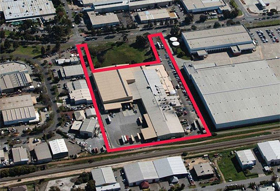 The Canning Vale site is spread over more than three hectares.
