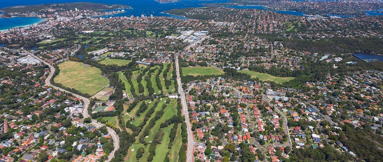 Aged care provider swings for North Manly golf club