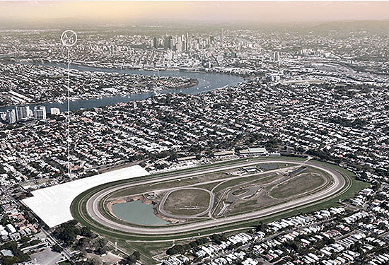 Ascot Green is a part of the revitalisation of the Eagle Farm Racecourse precinct.