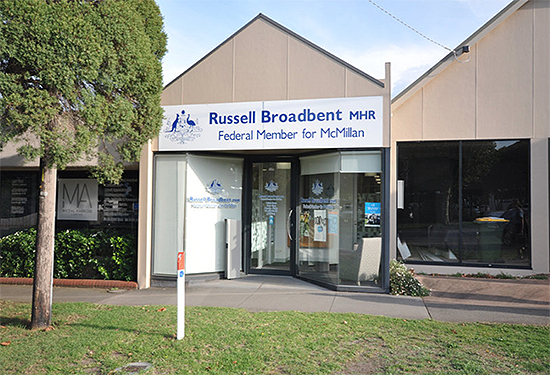 A Commonwealth Government-leased office in Warragul sold for $600,000.