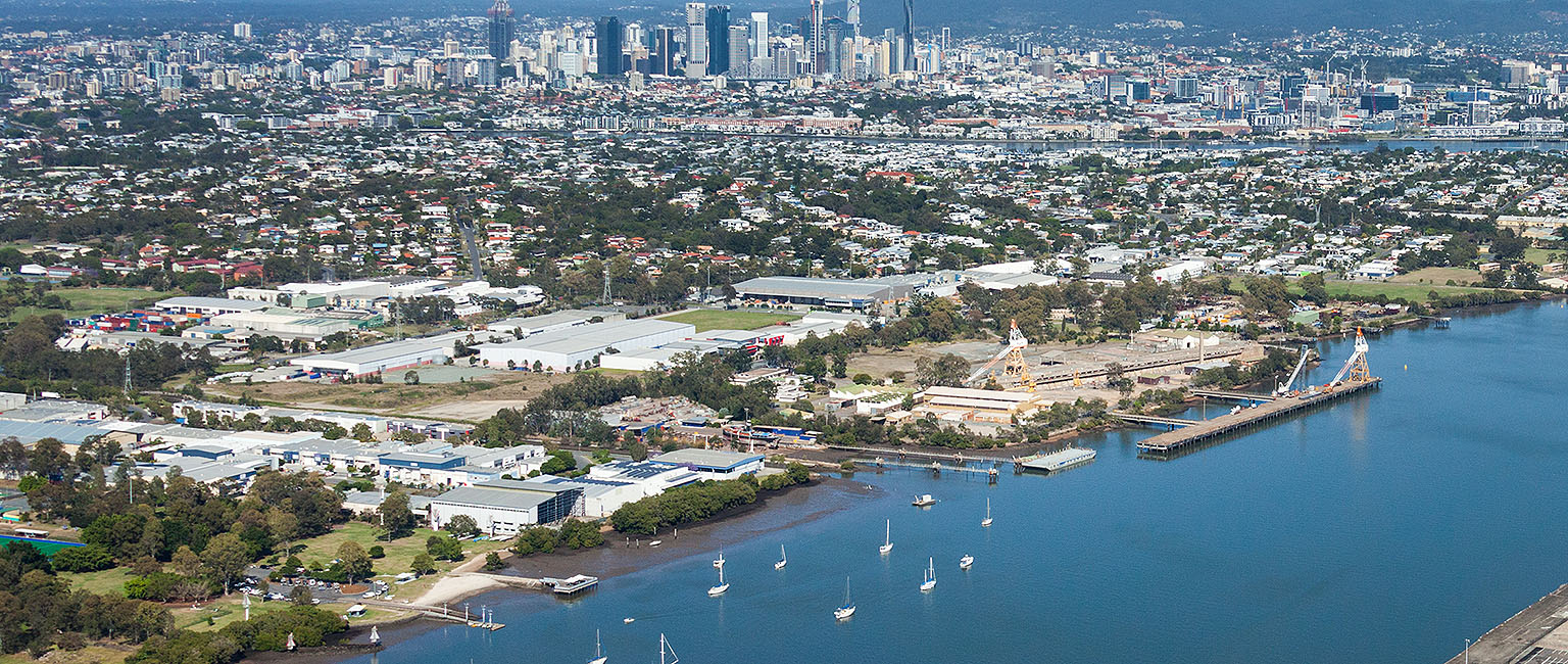 WWII naval dockyard floated onto Brisbane market