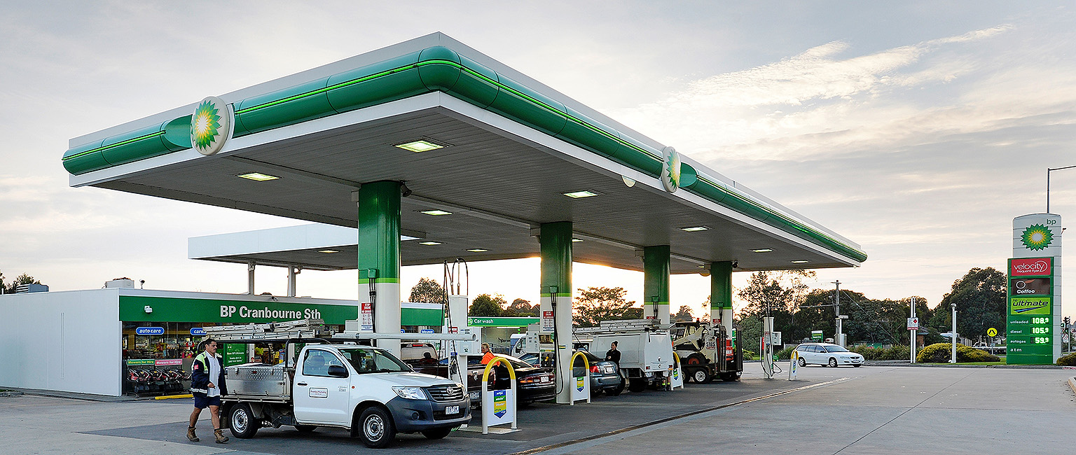 Petrol station owners rush to cash in