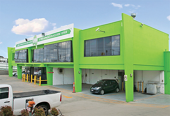 A Cheltenham smash repair centre sold for more than $6 million.