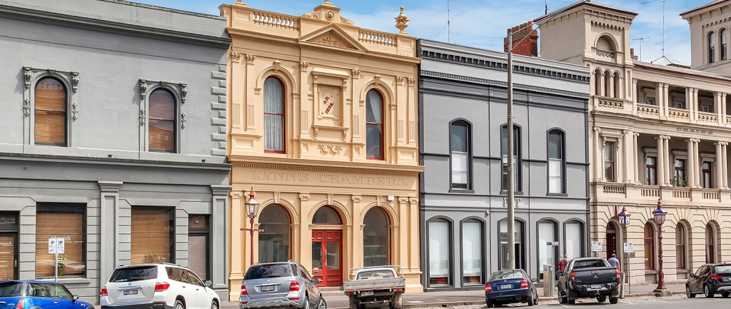Lynn's Chambers in the centre of Ballarat is up for sale.