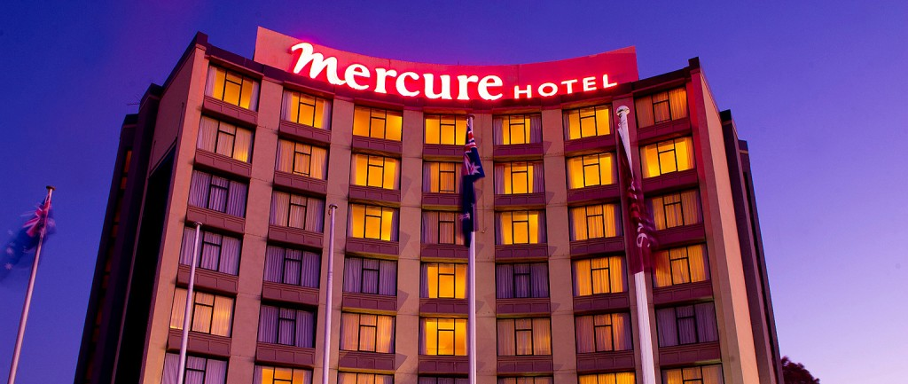 Geelong's Mercure Hotel.