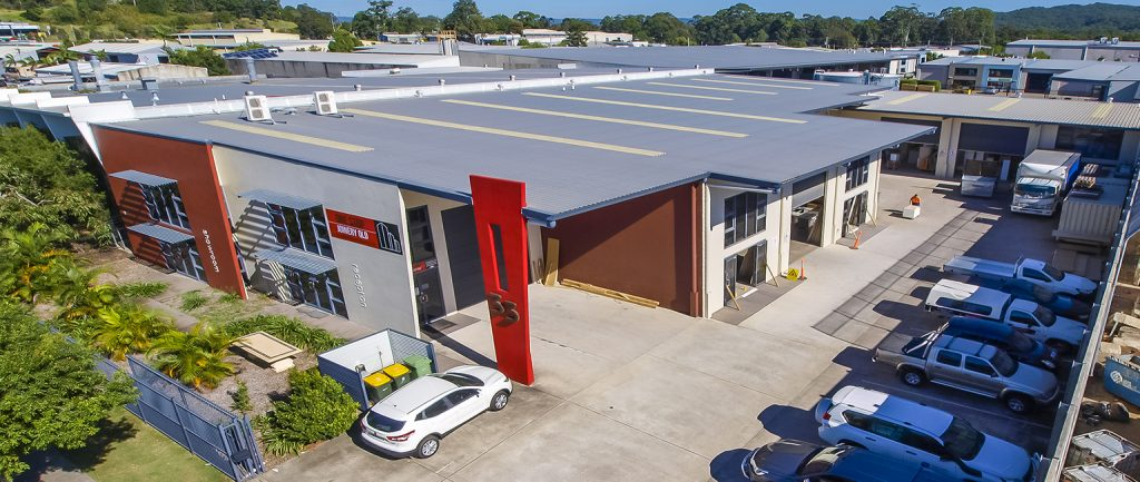 This standalone industrial property in Kunda Park is on the market.
