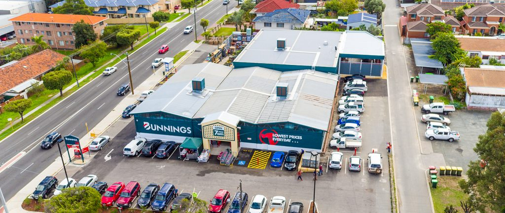A Bunnings Warehouse at Osborne Park in Perth sold on a record yield.