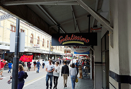 Gelatissimo has leased its first Western Australian shop in Fremantle.