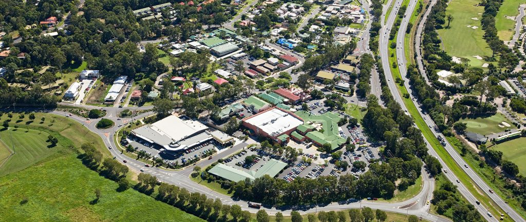 Mudgeeraba has emerged as a major Gold Coast commercial hub.