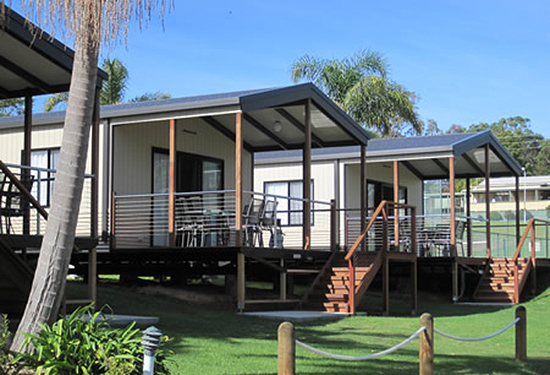 The Ocean Lake Caravan Park on the NSW south coast is a part of the Ingenia Communities portfolio.