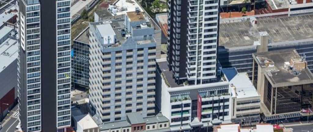Marprop Real Estate Partners has bought this office tower in Parramatta.