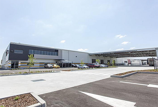 Space in The Key Industrial Park continues to be highly sought after.