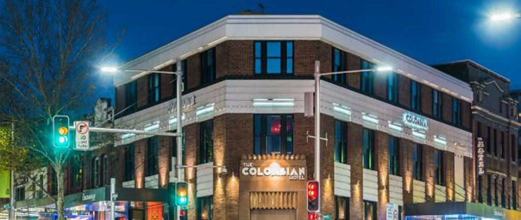 Sydney's Colombian Hotel has been sold.