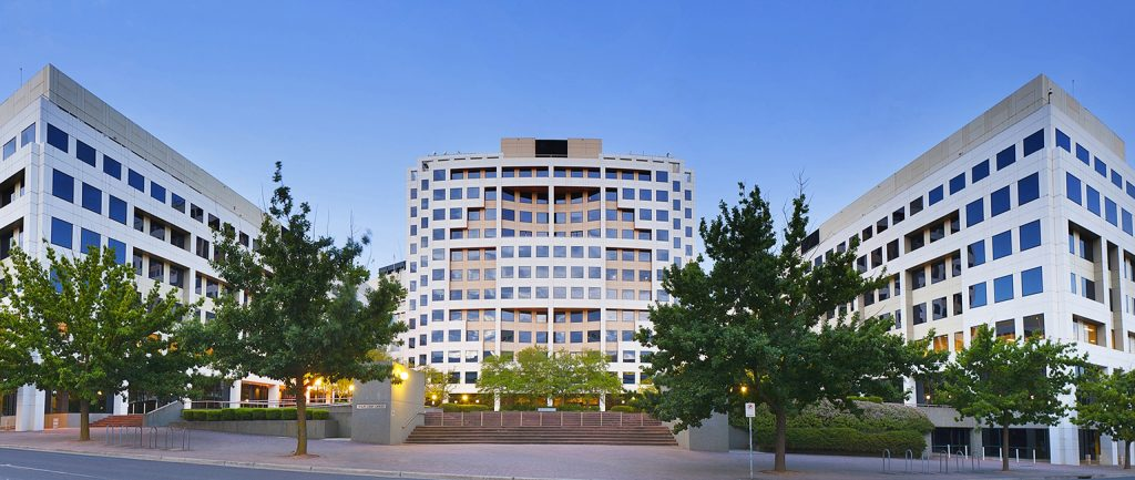Canberra's Finlay Crisp Centre is on the market.